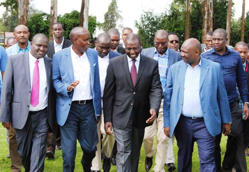 Dp Ruto Orders Squatters to vacate Mau Forest