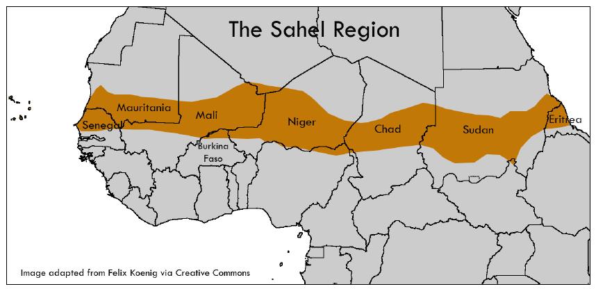 Is Sahara desert swallowing Sudanese villages?