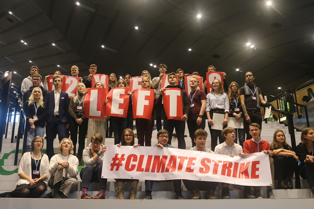 'We feel more like bystanders,' Youth at COP24 cry out as they call for active participation in negotiations