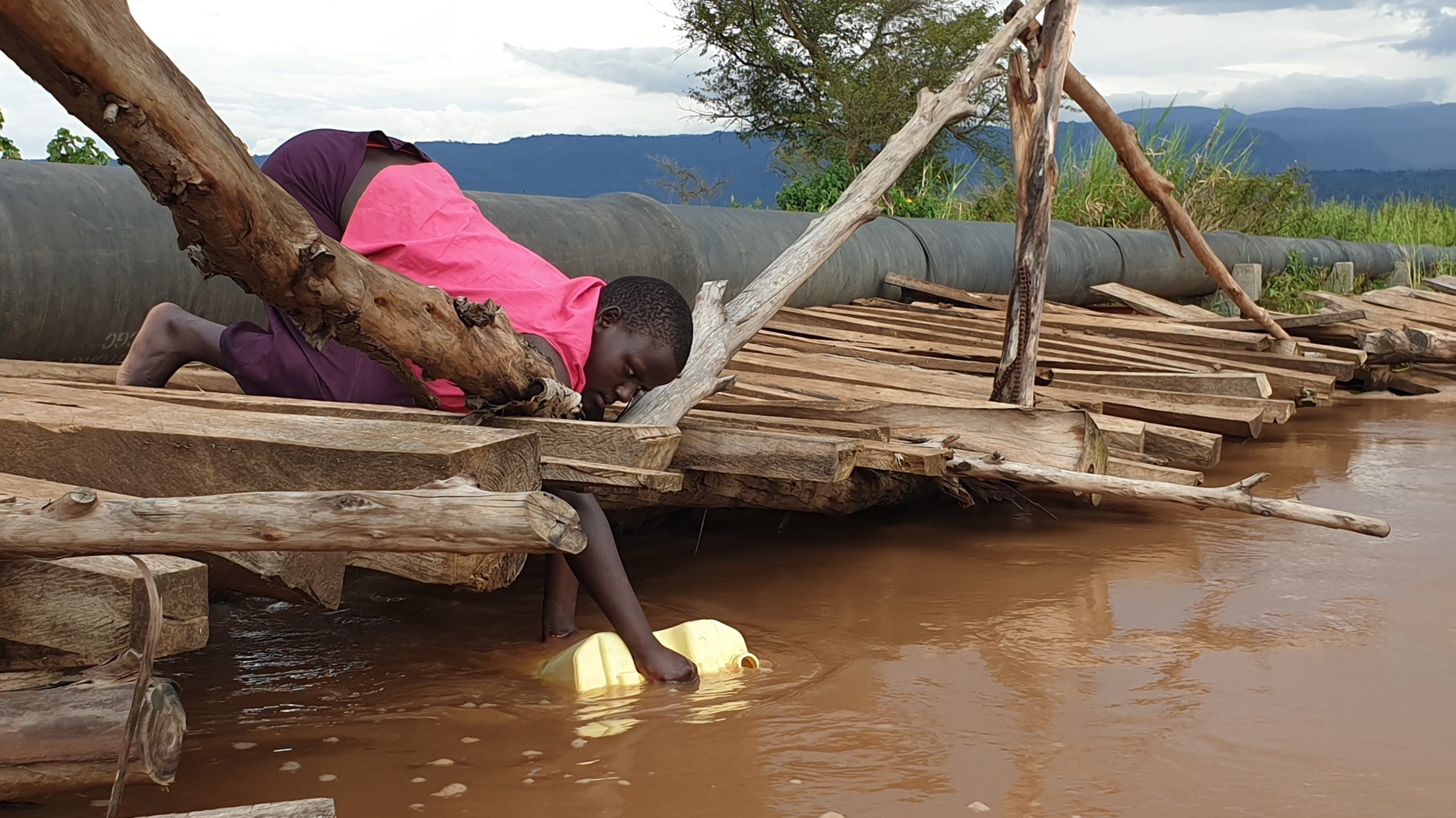 Landslides Surviving Children Champion Tree Planting In Water Scarcity Hit Bunambutye Resettlement Camp