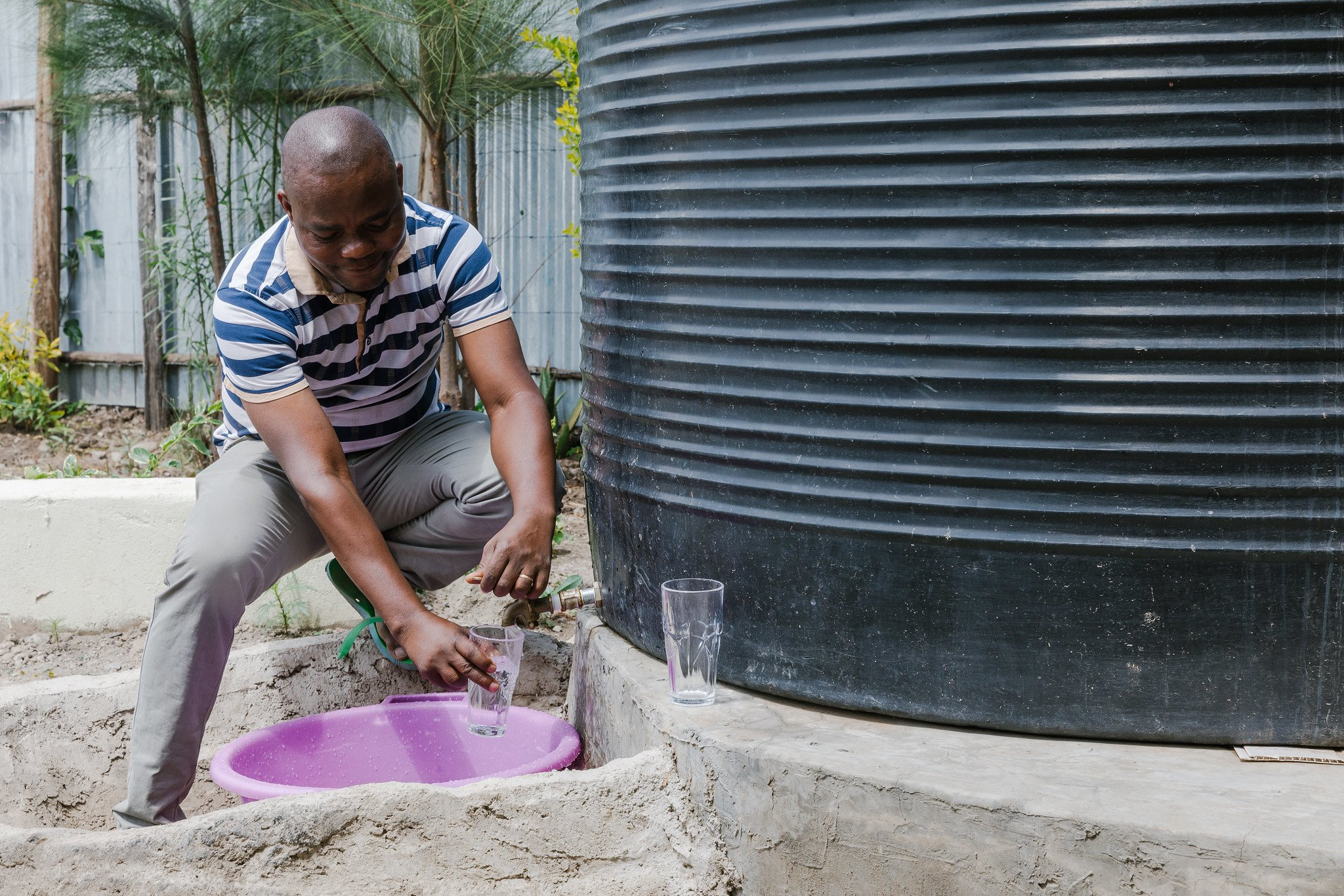 WATER FOR CREDIT: How Small Loans are Helping Kenyans Harvest Rainwater, Invest in Sanitation during Pandemic